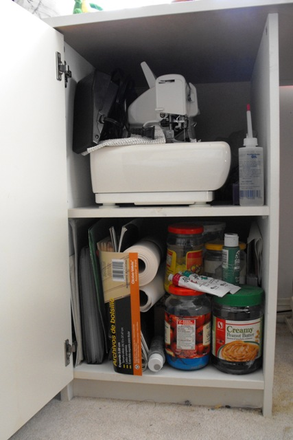 Serger Cupboard
